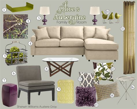 Olive & Aubergine Living Room Christmas Gifts 12 Year Old Boys Ideas For 2014 Send Online Gift Dad From Baby Guys Grandparents Toddler Easy Crafty Last Minute