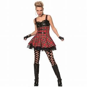 Gothic Kleidung Auf Rechnung : 80er jahre punk rebellin kost m ~ Themetempest.com Abrechnung