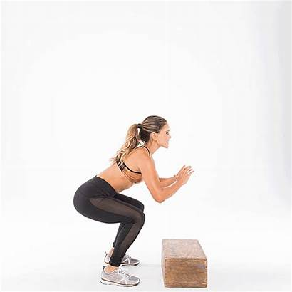 Workout Box Butt Tight Shape Exercises Jumps