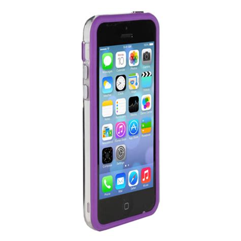 iphone 5c purple genx bumper for apple iphone 5c purple