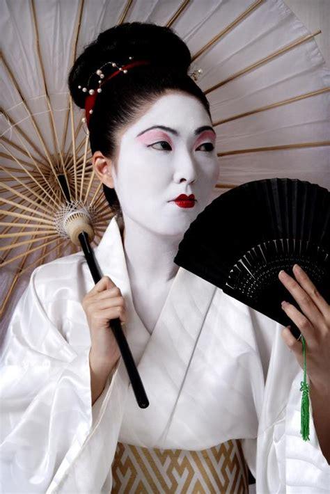 pictures  geisha makeup slideshow