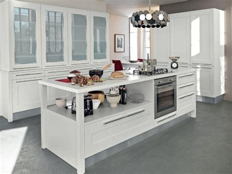 cuisine classique blanche aménagement cuisine classique