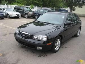 2003 Black Obsidian Hyundai Elantra Gt Hatchback  11268557