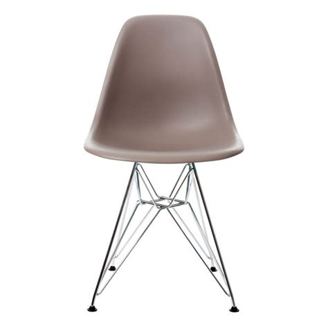 Chaises Eams Occasion by Chaise Eames Plastic Side Chair Angle Droit Design