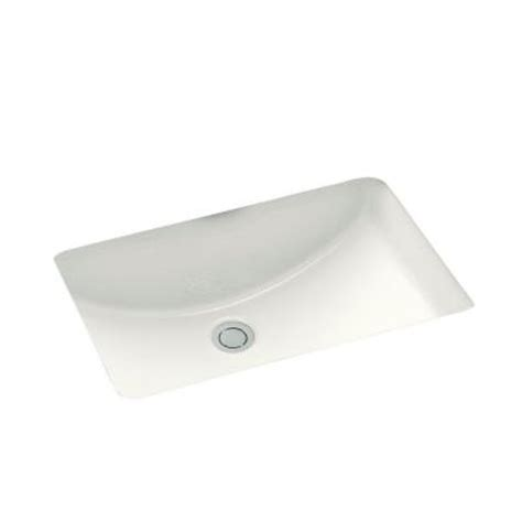 Kohler Ladena Sink K 2214 by Kohler Ladena Undermount Bathroom Sink With Glazed
