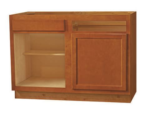 kitchen kompact bretwood 48bc maple base corner cabinet at