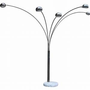 five arm arc floor lamp at 1stdibs With modern 5 arm floor lamp