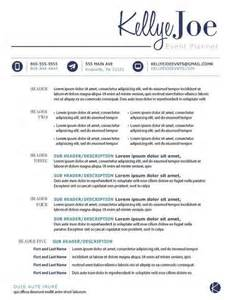 What Does Professional Organization On A Resume by Creative Event Planner Resume Search