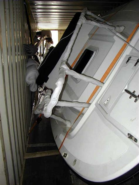 Boat In A Shipping Container by Newbie Advice The Hull Boating And Fishing Forum