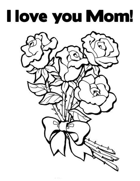 mothers day  news  love  mom coloring pages