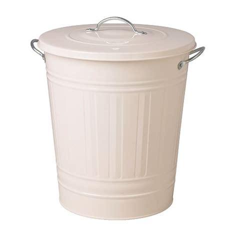 poubelle bureau ikea knodd poubelle blanc 40 l ikea