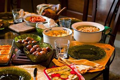 Dinner Thanksgiving Table Wallpapers Meals Meal Dining