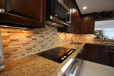 ceramic kitchen backsplash ceramic tile backsplash contemporary kitchen new york by specialized home improvements ltd