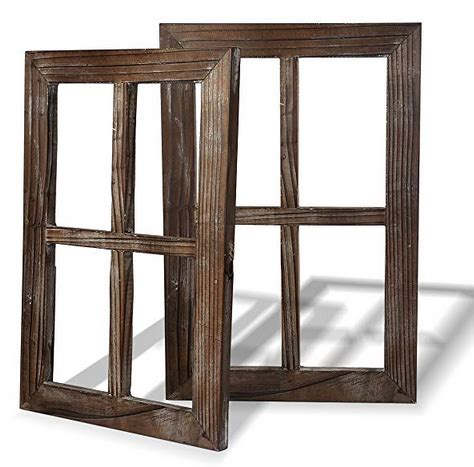 Congratulations to danielle and josh on their marriage! Rustic Barnwood Window Frames - A Thrifty Mom - Recipes, Crafts, DIY and more