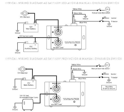 Volt Amp Battery Isolator Split