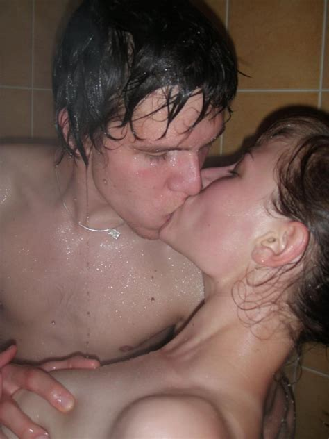 Amateur College Shower Threesome High Quality Porn Pic