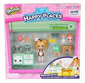 Shopkins Happy Places Welcome Pack Kitty Kitschy - Just