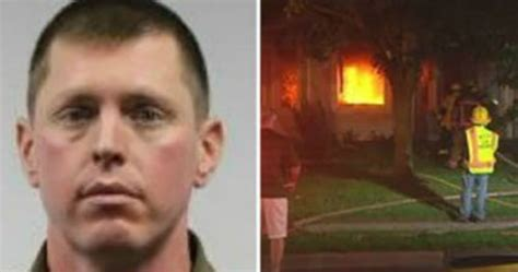 Firefighter Charged With Burning His Own House, Blaming