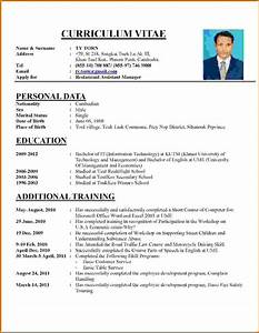 10 how to write a cv examples lease template With how to write a cv