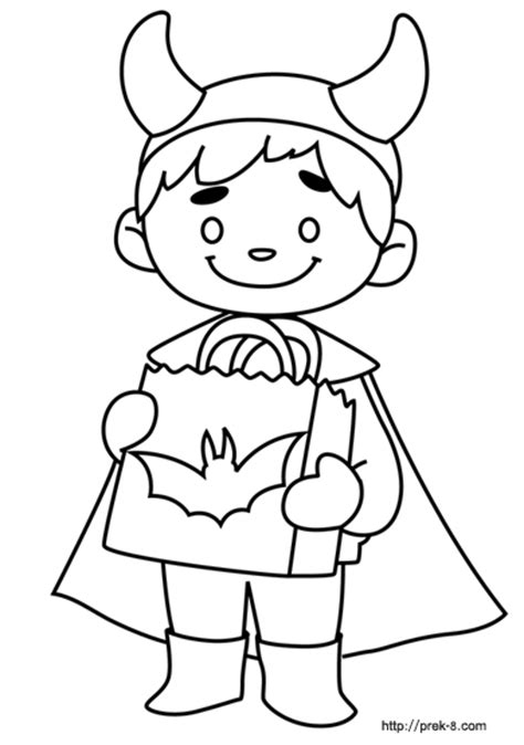 pre  halloween coloring pages festival collections