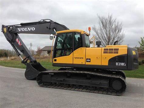 volvo ec210c l ec210cl excavator service repair manual instant do