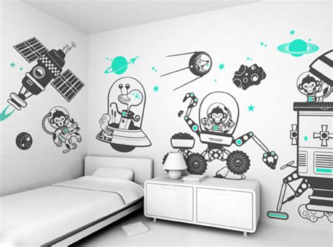 Bedroom Wall Drawings by Mollymoocrafts The Wall Mollymoocrafts