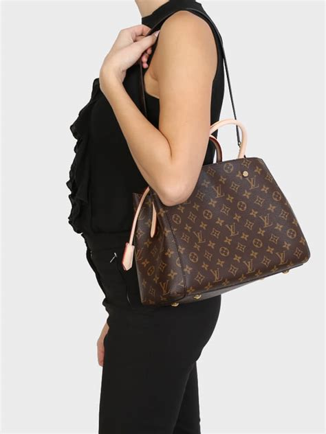 louis vuitton montaigne mm monogram canvas luxury bags
