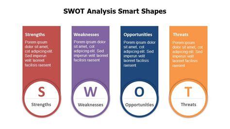 swot analysis smart shapes powerslides