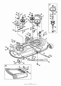 Mtd 13w2775s031  Lt4200   2014  Parts Diagram For Mower