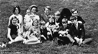 Bobby Kennedy and his family. His last child was born ...