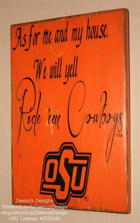 The Tile Shop Okc Ok by Oklahoma State Sign Osu Cowboys Distressed Wood