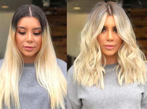 Ombré Hair Blond Polaire Agenc 233 Salon Ombr 233 Hair 32 Transformations 224 Couper Le Souffle