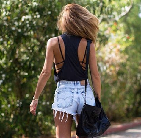 High waisted shorts denim shorts vintage distressed high waisted jeans cute outfits cute ...