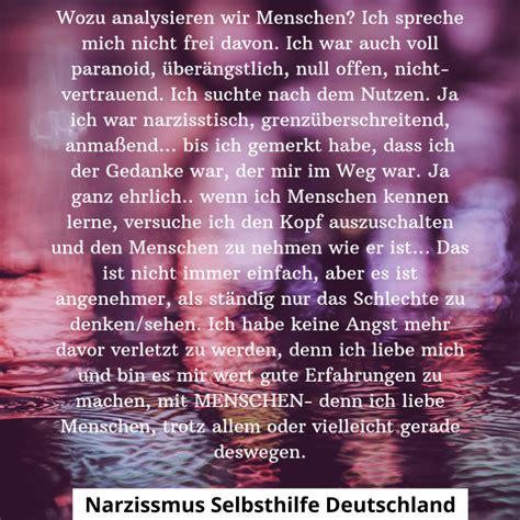 zitate und sprueche narzissmus selbsthilfe deutschland