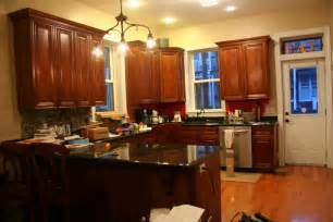 Hardwood Floor And Kitchen Cabinet Combinations by Kitchen Paint Colors With Dark Brown Wooden Cabinets