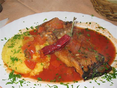 cuisine r騁ro fish food saramura de peste pickled carp danube giurgiu romania flickr photo