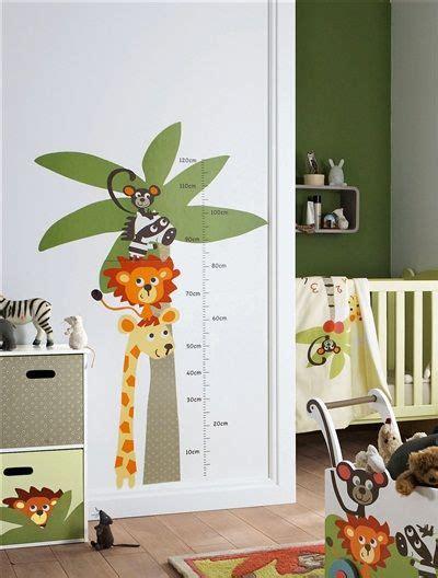 Vertbaudet Kinderzimmer Ideen by Vertbaudet Messlattensticker Mit S 252 223 En Zootieren детская