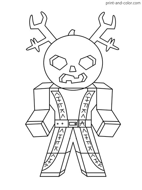 roblox coloring pages print  colorcom