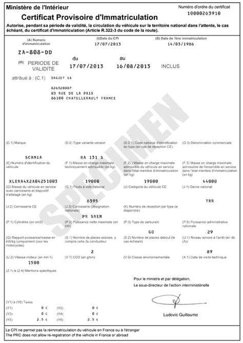 Avis Site Carte Grise by Mes Papiers En Images Site Immatriculation