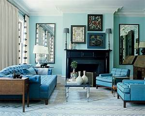 interesting blue color schemes for living room With blue living room color schemes