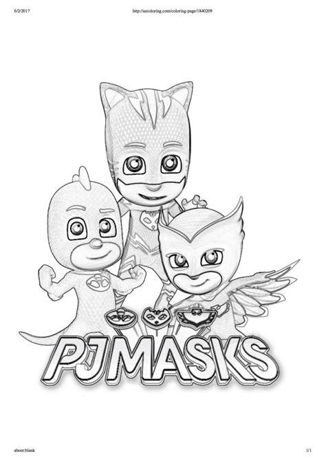 disegni da colorare dei pj masks scritta blogmammait