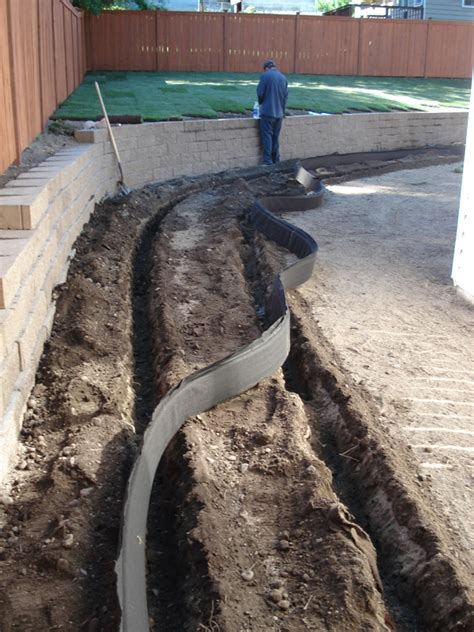drain systems for yards gallery