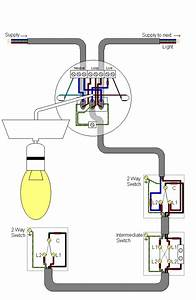 Gang 2 Way Lighting Circuit Wiring Diagram