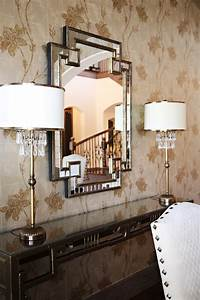 home goods mirrors Bathroom Traditional with capiz shell ...