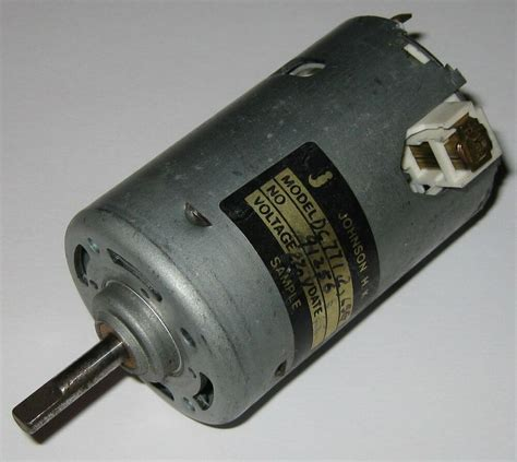 Johnson Electric Motors by Johnson 220 Vdc Electric Motor 220vdc 12 Pole Dc Hobby