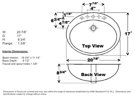 how to measure for a kitchen sink decorated bathroom sinks by barclay 9494