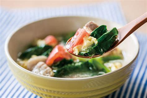 つるむらさき スープ
