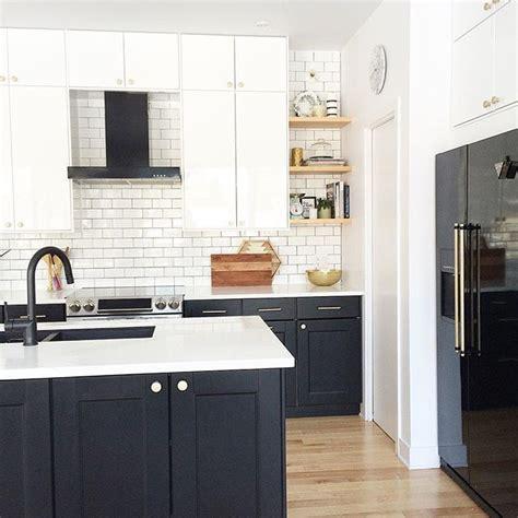 modern kitchen black  white kitchen kitchen design