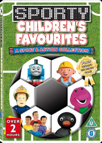 children s favourites sporty children s favourites dvd