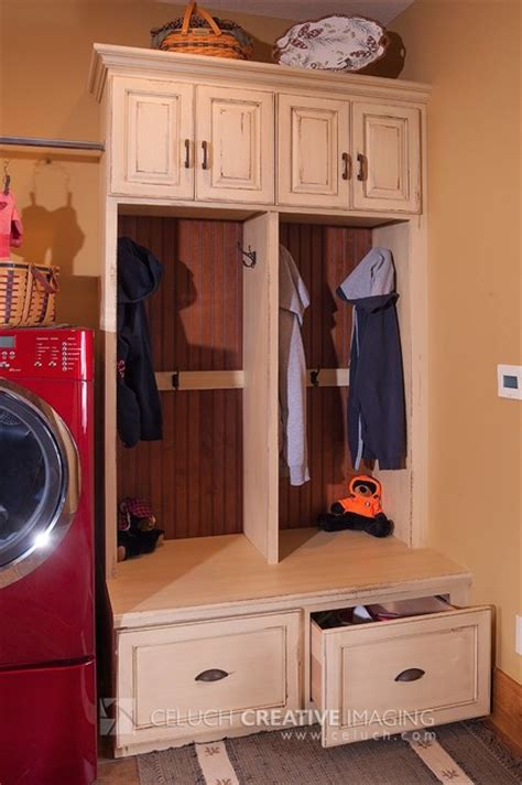 rustic cabinets for laundry room rustic log home rustic laundry room other by